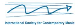 Logo ISCM